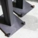 Concerto Home / PianoBlack + Stand Leather Set:4